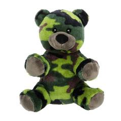 Camo Bear 8in