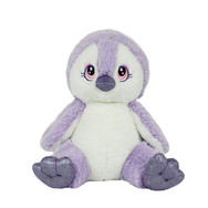 Purple Penguin 8in
