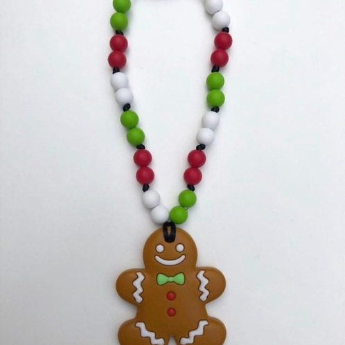 Gingerbread Carrier Teether
