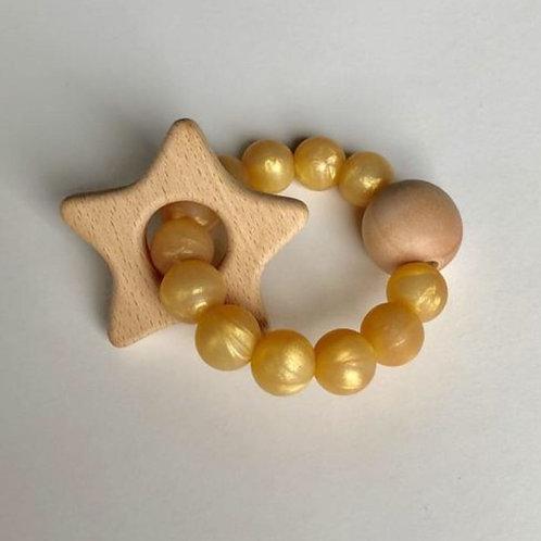 Golden Star Rattle