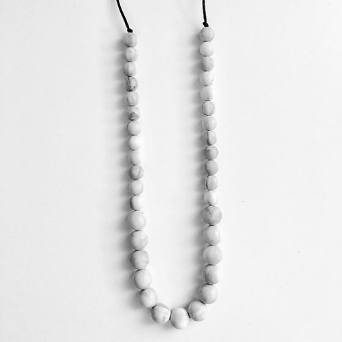 Marble Chewy Necklace