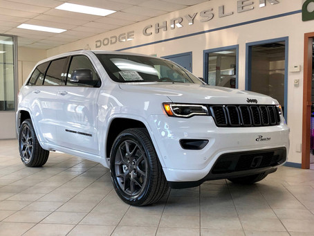 Nouveau Jeep Grand Cherokee Limited Edition 80e Anniversaire 2021