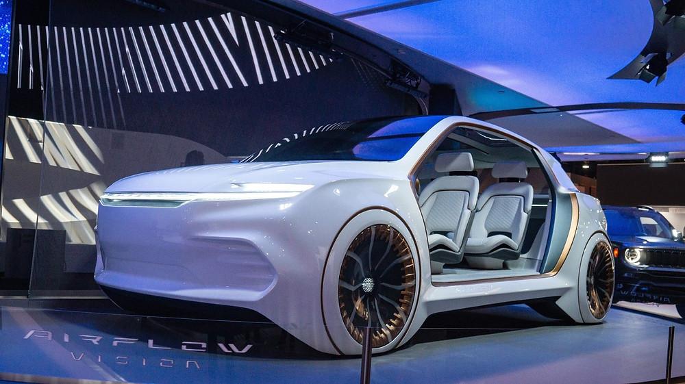 2020 Chrysler Airflow Vision Concept. (Chrysler)