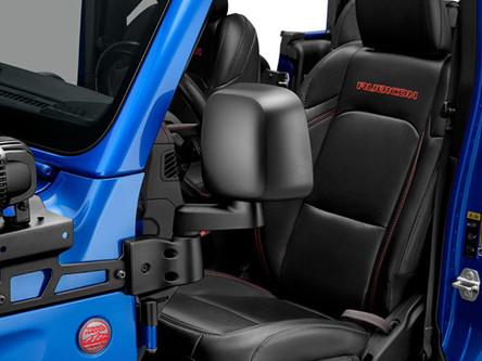 Mopar offre un nouveau kit de rétroviseurs pour les Jeep Wrangler et Gladiator sans portes !