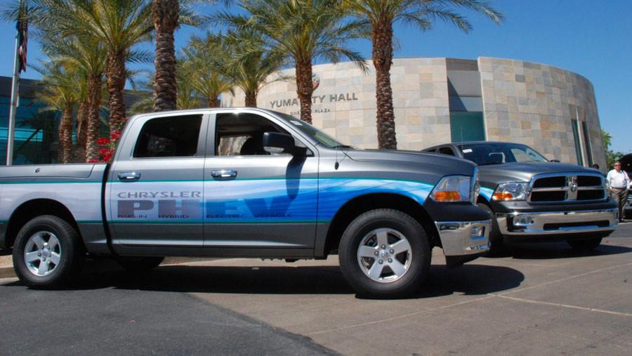 2011 Ram 1500 Crew Cab 4×4 PHEV Test Vehicle. (Ram).