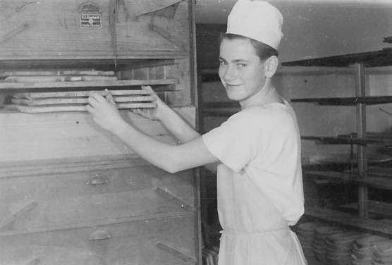 Hartmut Walther als 14-jähriger Lehrling 1957
