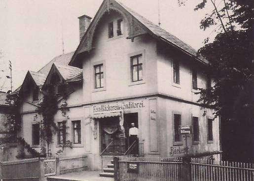Die Bäckerei in den 30er Jahren
