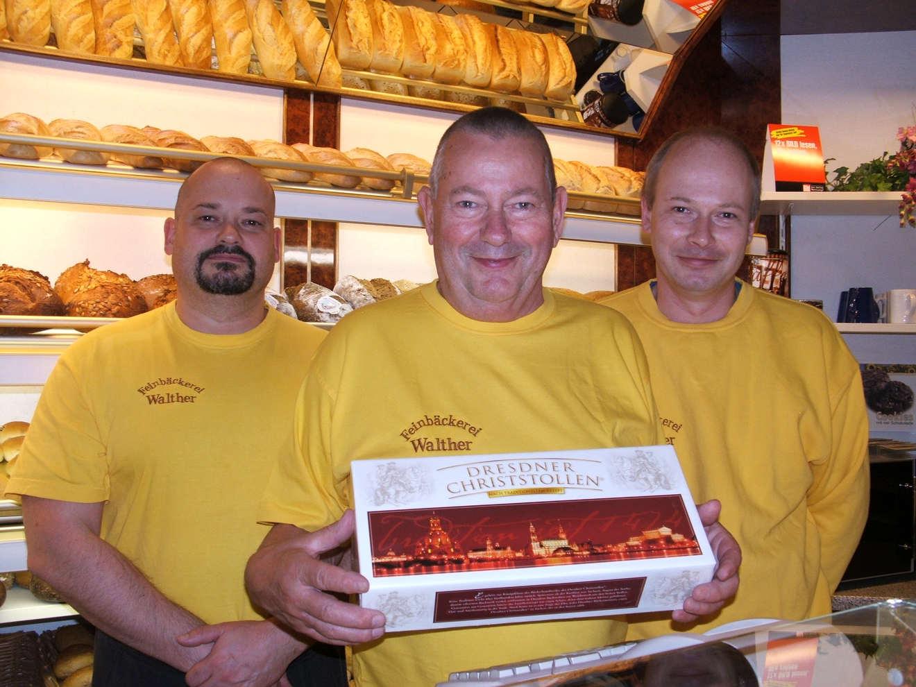Frank, Hartmut und Lutz Walther 2008