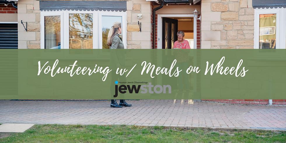 Volunteering w/ Meals on Wheels