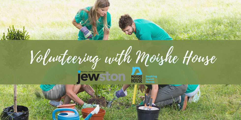 Volunteer Day with Moishe House!
