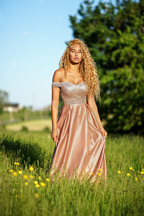 AURELINE vieux-rose