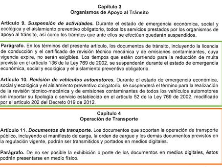 Resolución 482 - 22 marzo 2020 - Covid 19
