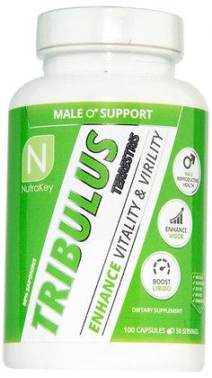 NUTRAKEY TRIBULUS Pharmaceutical Grade Testosterone Booster - 100 CAPSULES