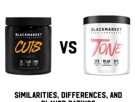 BLACKMARKET CUTS VS TONE + FLAVOR REVIEWS