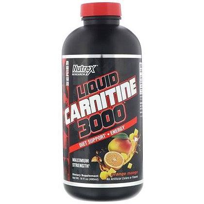 NUTREX RESEARCH LIQUID L-CARNITINE 3000