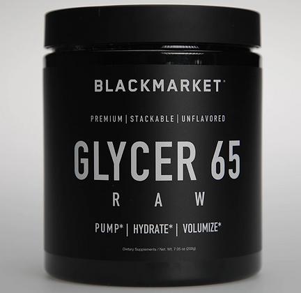 Blackmarket raw gylcerol