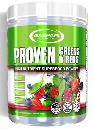 Gaspari reds and greens