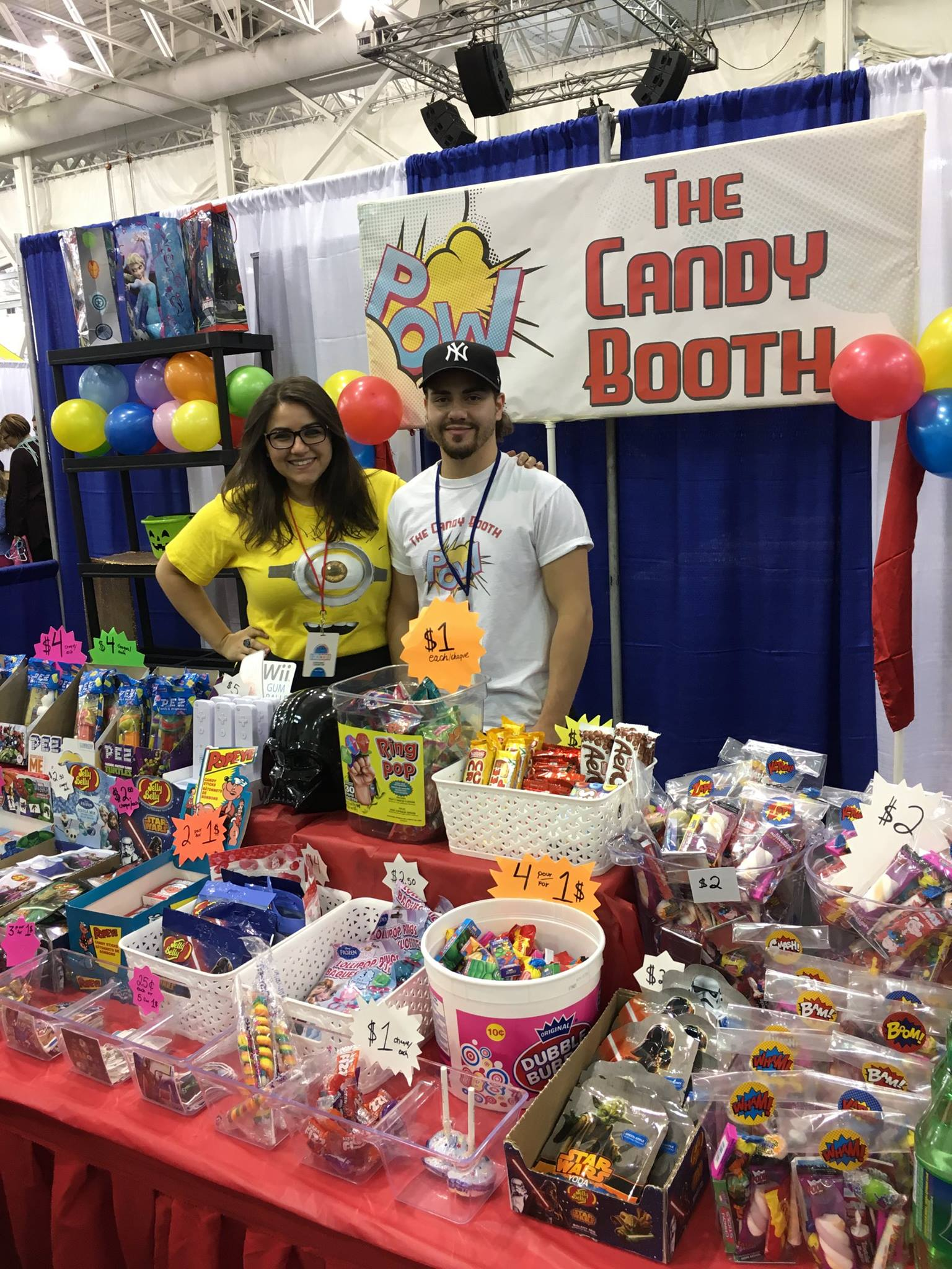 THE CANDY BOOTH