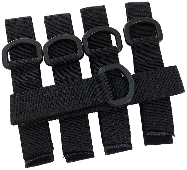 Tailgate 2.0 Bike Tie Down Straps - Pack Of 5