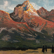Long's Peak Sunrise Glow