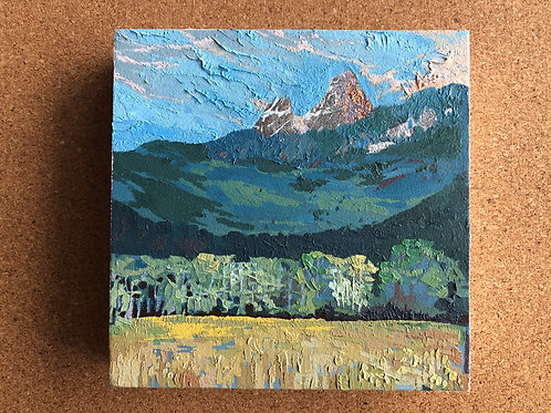 Work in Progress, Grand Tetons