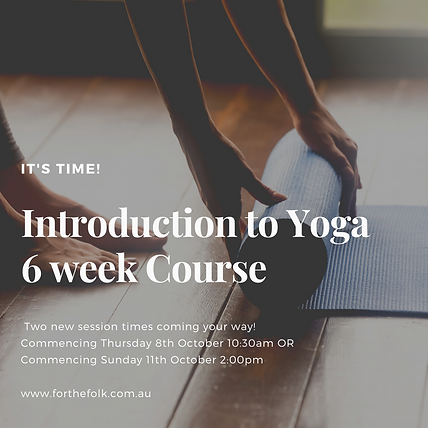 Introduction to Yoga - 6 week course .pn