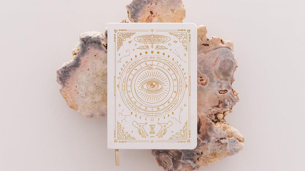 Magic of I - 2021 Astrological Planner - White
