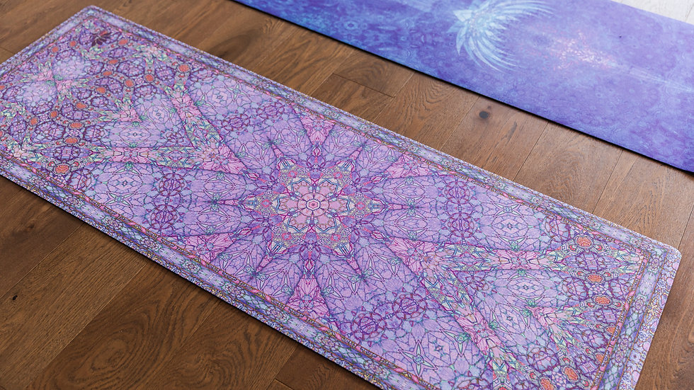 Eco Luxe Yoga Mats 4.5mm - Starburst Lilac