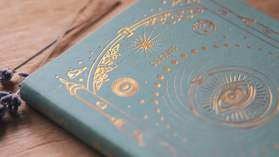 Magic of I - Ether Dream Journal - Teal