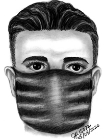 Exasperated Police Sketch Artist Honestly Can't Wait For Mask Mandate To Be Lifted