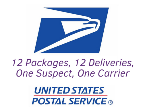 USPS Debuts New Slogan: 12 Packages, 12 Deliveries, One Suspect, One Carrier, US Postal Service