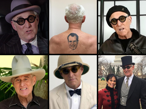Roger Stone Arrested By Fashion Police