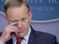 Report: Sean Spicer Kind Of Misses Being In The News All The Time