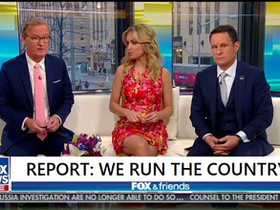 Fox And Friends Says Fuck It, Moves Show To The Oval Office So They Can More Effectively Govern The