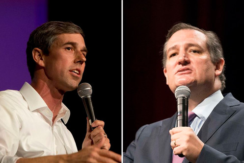 Ted Cruz Says It Is Unfair That Opponent Beto O'Rourke Has A Face People Aren't Compelled To Pun