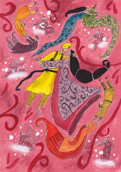 Tariek, Leila en de blauwe maan
