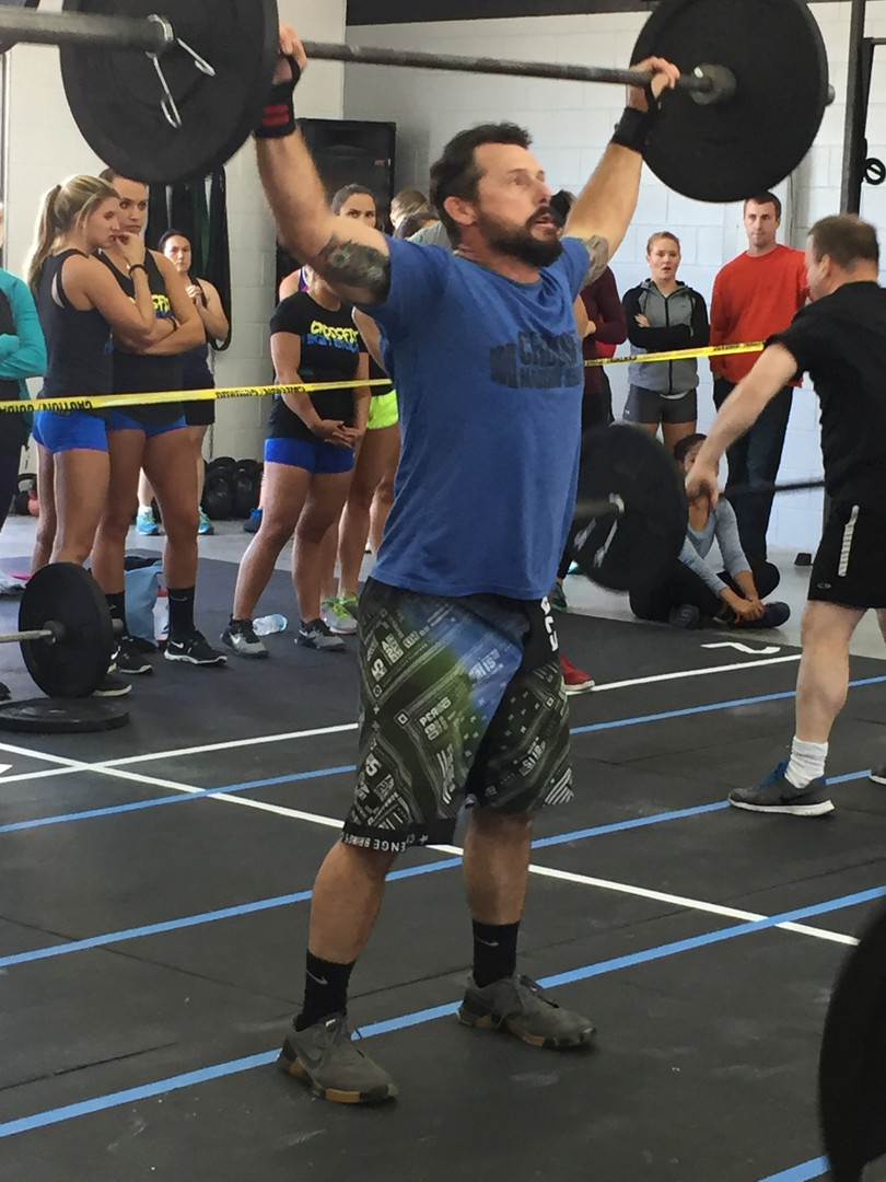 Madison Heights Misfit athlete, Jeremy Cunningham, also competing at The Festivus Games held in Farmville, Va a couple years back.