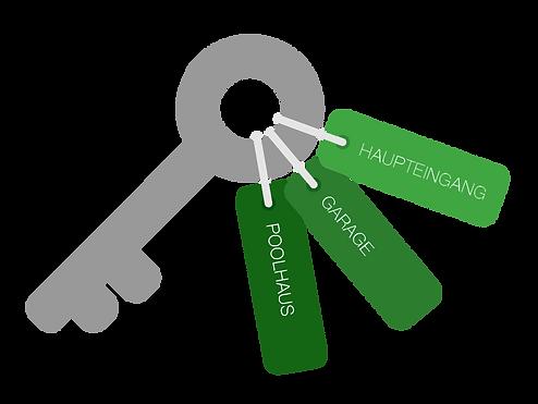 Schlüssel zu Ihrem neuen Haus