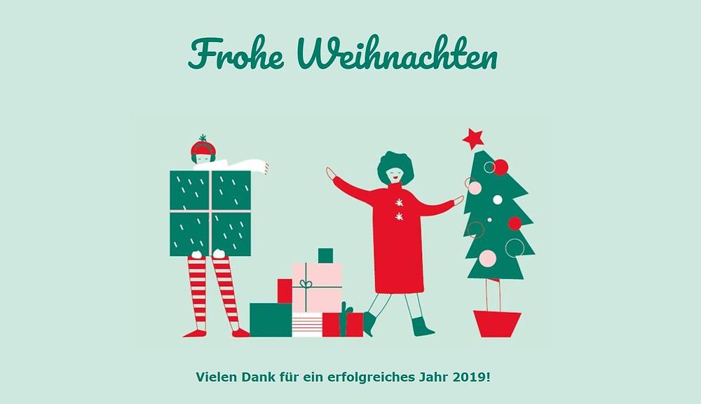 Frohe Weihnachten wünscht Jonas Nonnenprediger