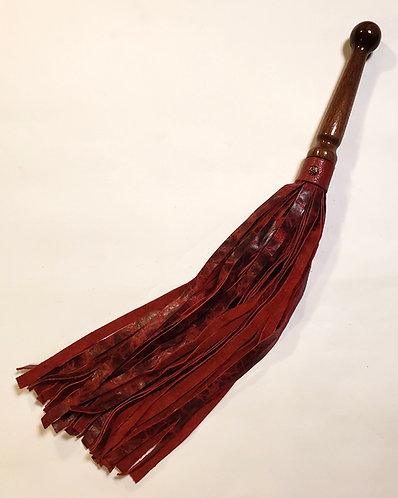 Lightening Red Stingy Flogger