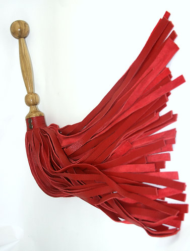 Hollywood Red and Ambrosia Maple Flogger