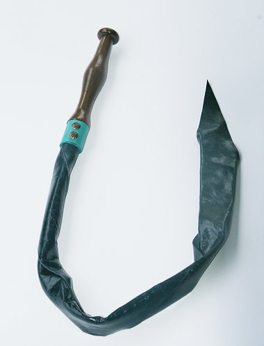 Metallic Blue & Walnut Dragon Tail