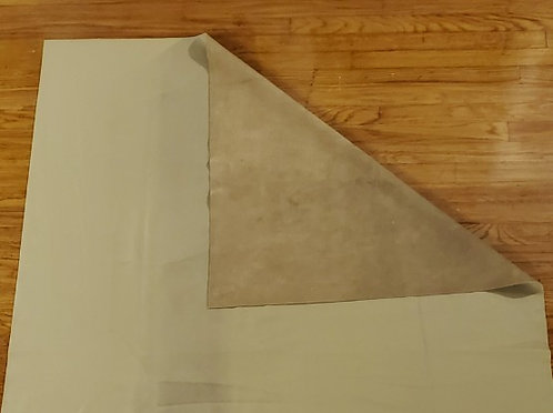 Medium Beige Leather Blanket