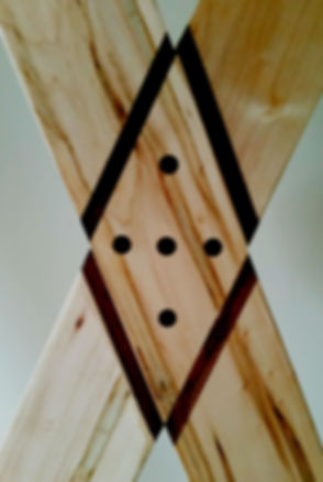 St. Andrews Cross Inlay