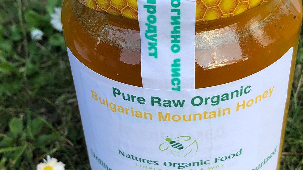 Raw Mountain Honey