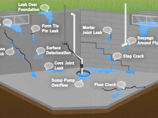 Leaking Basements (Assessment & Solutions)