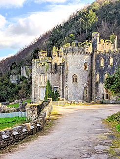 Grych Castle - home of I'm a Celebrity Get Me Out Of Here 2020
