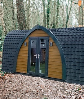 Ayre - large glamping pod for 2 + 2 people
