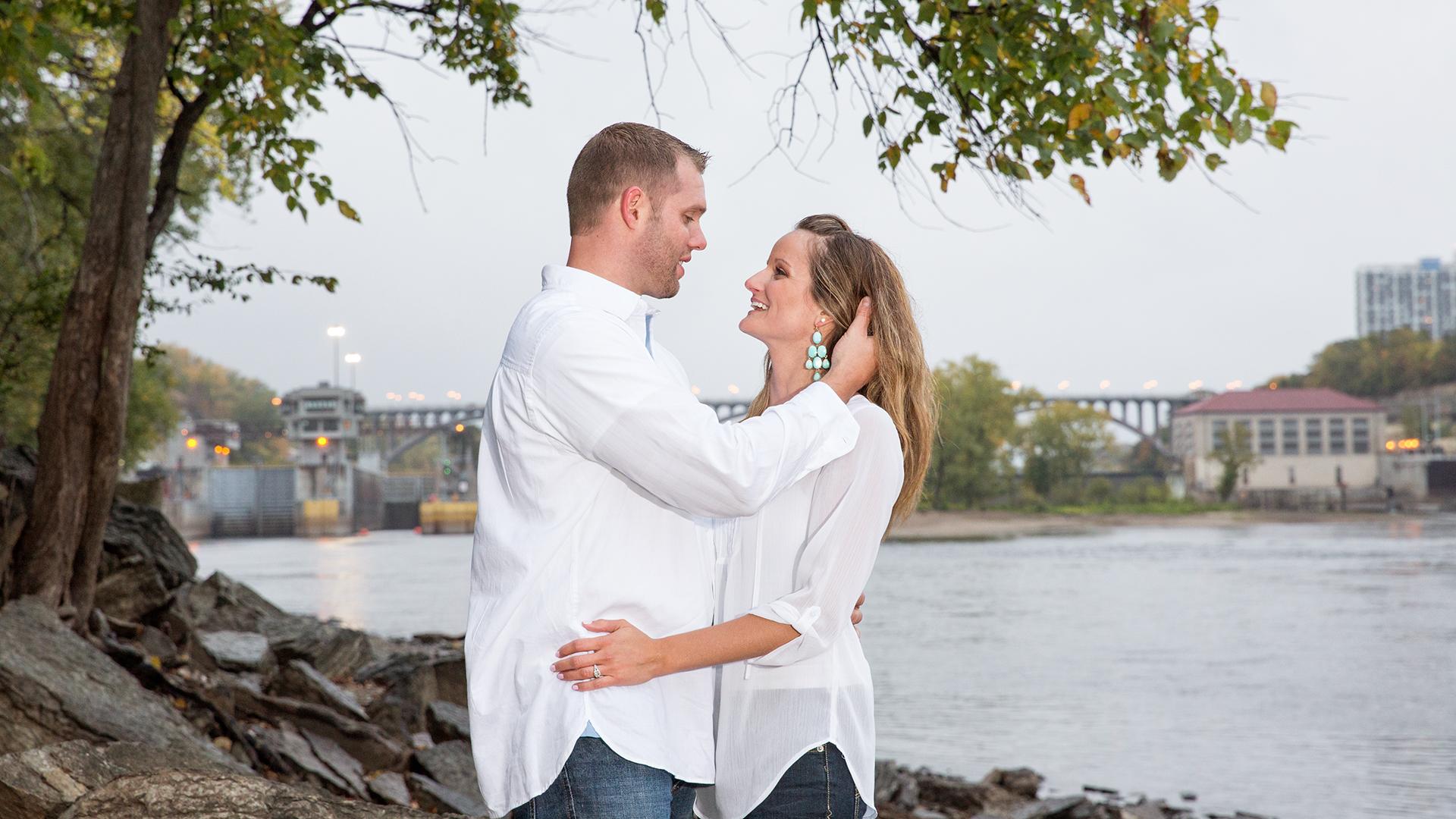 Riverside engagement Minnehaha MN