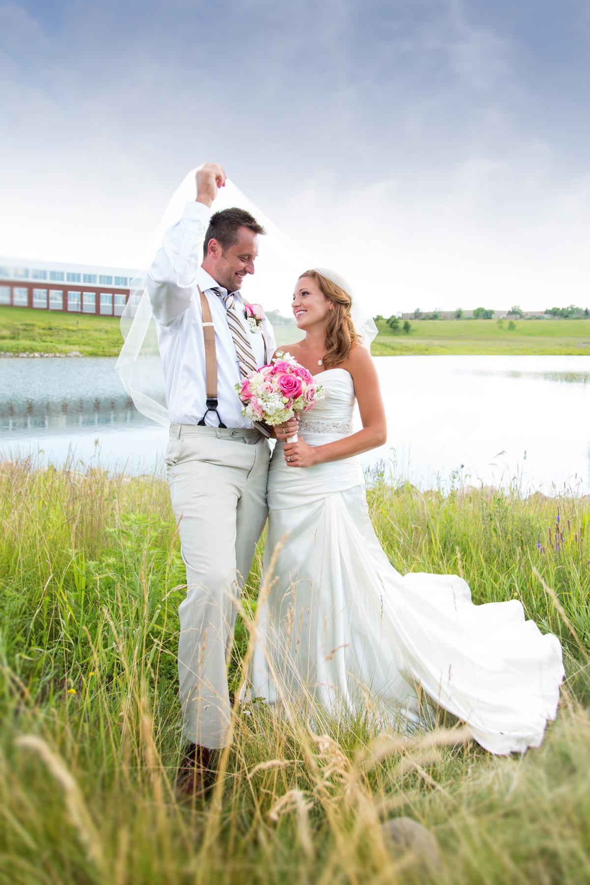 Maple Grove Town Green wedding
